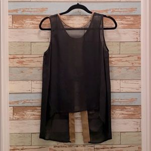 Costa Blanca Vegan Leather Top